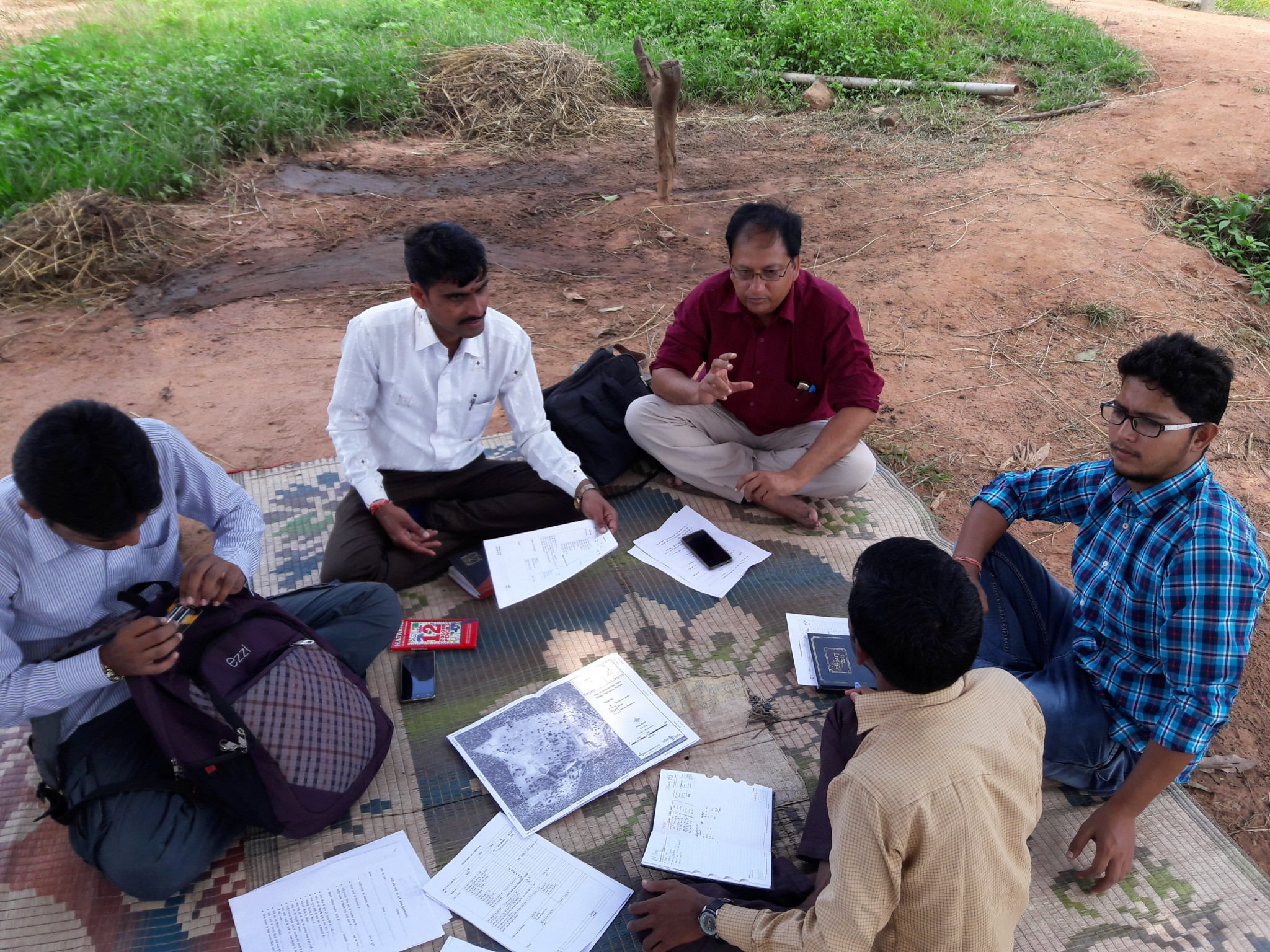 Participatory Ground Water Management (PGWM) with the ACT team, Gujarat